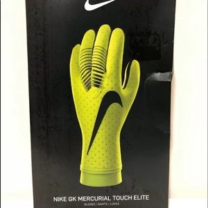 Nike Mercurial Elite Soccer Goalie Gloves Volt